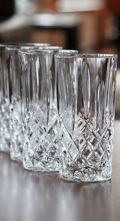 Glass Fine Old Lot 4 Etched Glass Finger Bowls Perhaps Fostoria Mild And Mellow Antiques