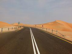 https://flic.kr/p/nCdZco | Highway in Liwa Oasis (واحة ليوا), Abu Dhabi (إمارة أبو ظبي)