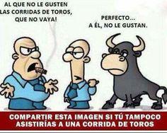 No a las corridas de toros