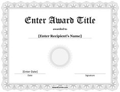 Orange Ribbon Certificate For Microsoft Word Download The
