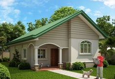 Modern bungalow house philippines small bungalow house plans new small house design modern small bungalow house design home design modern modern zen Bungalow Style House, Small Bungalow, Bungalow House Plans, Modern House Plans, Small House Plans, Bungalow Designs, Wooden House Design, Small Wooden House, Simple House Design