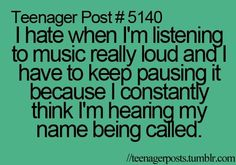 or you take one earphone out and turn it down