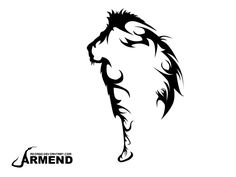 deviantART: More Like Lioness Tattoo Design: Phase 1 by ~13-pretty-pistols.... Like this but of a lioness