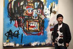 What are the most expensive Jean Michel Basquiat paintings ever sold at auction? His black kings were reigning many auctions over the years, but only one artwork is the priciest of them all. Alphonse Mucha, Skull Painting, Love Painting, African American Artist, American Artists, Girl Artist, Art Girl, Science Fiction, Basquiat Paintings