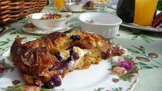 Sandlake Country Inn Blueberry Croissant French Toast
