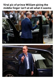Viral Pic Of Prince William Giving The Middle Finger Isn't At All What It Seems
