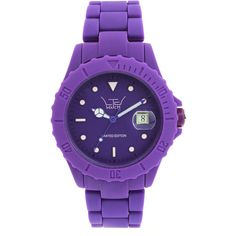 Ltd Purple Watch ($50) ❤ liked on Polyvore featuring men's fashion, men's jewelry, men's watches, watches, jewelry, accessories, bracelets, purple and mens purple watches