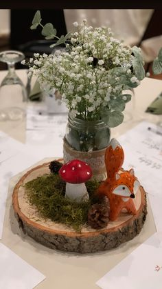 Baby Shower Themes, Shower Ideas, Woodland Baby, Amanda, Picnic, Table Decorations, Birthday, Home Decor, Cement Crafts