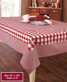 Country Check Tablecloths