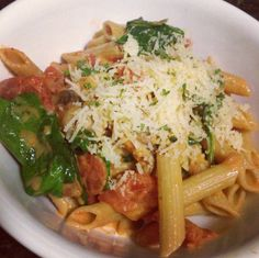 Recipe for Noodle & Company's Penne Rosa