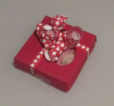 Handmade Marzipan Hearts - Valentines - Love - Romance - Anniversary Gift - Wedding Favors - Chocolate - Sweets - Candy