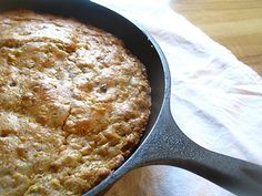 A moist and ever-so-slightly sweet cornbread packed with sun-dried tomatoes, jalapeños and tart goat cheese
