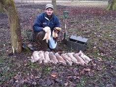 hunting rabbits with ferrets -quite the sport in England Camping Survival, Camping Hacks, Rabbit Hunting, Pretty Landscapes, Different Fish, Bait And Tackle, Pheasant Hunting, Types Of Fish, Big Fish