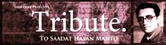 TRIBUTE to Saadat Hasan Manto @ Atta Galata - http://explo.in/29puWGi #Bangalore #Theatre