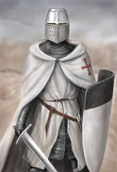 The Pocket A - Z of the Knights Templar by dashinvaine on DeviantArt Knight Orders, Knight Tattoo, Crusader Knight, Military Orders, Armadura Medieval, Knight Art, Medieval Knight, Historical Art, Chivalry