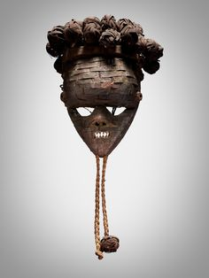 Salampasu Mask, Democratic Republic of the Congo | Sculpture from the Collection of Martin and Faith-Dorian Wright2021 | Sotheby's Republic Of The Congo, Faith, Sculpture, Collection, September, York, Sculptures, Loyalty, Sculpting