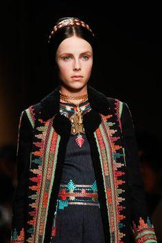 The jacket is like tenun Bima! Valentino ss14