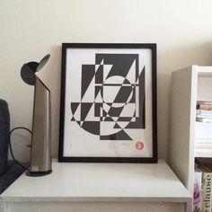 #johnscarane #printmaking #poster #posterdesign #screen #handprinted #screenprinting #grid #rastersysteme #raster #graphicdesigner