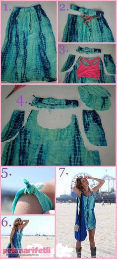 Dikişsiz elbise nasıl yapılır? | El Yapımı | Pek Marifetli!