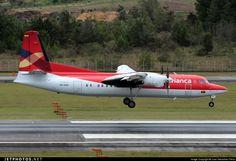 HK-4496  Avianca - Fokker 50