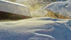 Sfeervolle Sneeuw in de Walliser Alpen