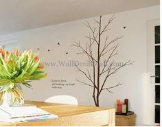 Love Is Love And Nothing Can Stand In Its Way Tree Wall Decals – WallDecalMall.com