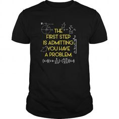 I Love FUNNY MATHS  Have A Problem Math Teacher Student T shirts