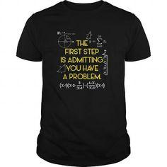I Love FUNNY MATHS  Have A Problem Math Teacher Student T shirts