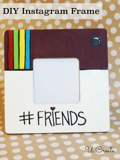 This would be a great gift idea for any holiday for my best friend. Liza... She just loves Instagram!!