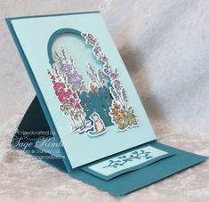 Fancy Fold Cards, Folded Cards, Handmade Greeting Card Designs, Homemade Birthday Cards, Shaped Cards, Easel Cards, Stamping Up Cards, Card Tutorials, Anna Griffin