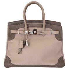 4ed5eac8cd22 Birkin leather handbag HERMÈS Other