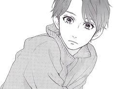 Anime boy. Manga