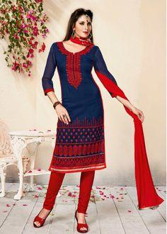Unstitched Salwar suit - TIA