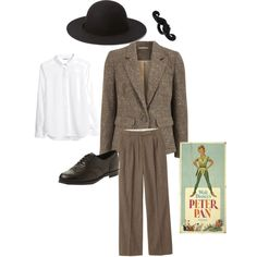 """Father - Peter Pan"" costume theme by thiszthegirlz on Polyvore"