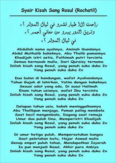 Lirik Qasidah Kisah Sang Rosul (Rohatil Athyaru Tasydu) ~ Syarifuddin Official