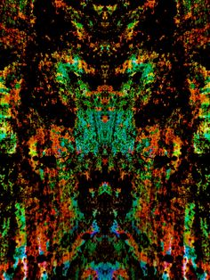 Untitled N°35 TS | Artist: Frank Offman | Arfican Art