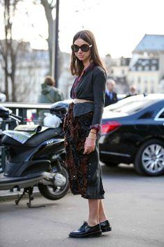 Paris Fashion Week Street Style Fall 2015