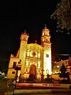 El Templo de la Santa Veracruz en Toluca