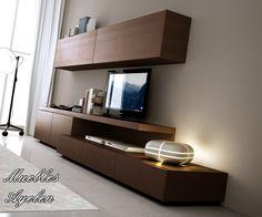 Modular Tv Lcd Rack Vajillero Mod 2700 Muebles Ayelen - $ 4.149,00 en MercadoLibre
