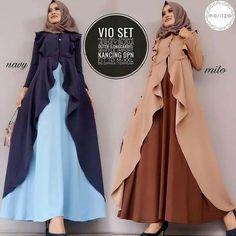 Jb VIO SET PR001 Harga 113.000 Berat barang : 600gr Bahan dress + luaran balotelly Ukuran all size fit to L Informasi dan pemesanan hubungi kami SMS/WA +628129936504 atau www.ummigallery.com Happy shopping #jilbab #jilbabbaru #jilbabpesta #jilbabmodern #jilbabsyari #jilbabmurah #jilbabonline #hijab #Kerudung #jilbabinstan #Khimar #jilbabterbaru #jilbab2018 #jilbabkeren #jilbabmodis #bajumuslim #gamis #syari #jilbabhitz #jilbabinstan #grosirjilbab Batik Fashion, Abaya Fashion, Fashion Dresses, Hijab Dress Party, Saree Dress, Islamic Fashion, Muslim Fashion, Purple Fashion, Girl Fashion