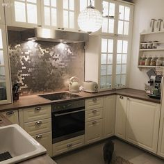 Kitchen Cabinets, New Homes, Home Decor, Friends, Ideas, Amigos, Decoration Home, Room Decor, Cabinets