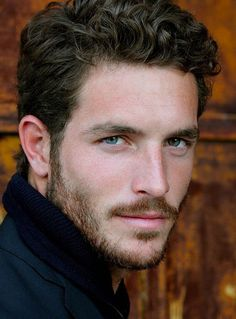 Handsome Is: Justice Joslin, American model. Beautiful Men Faces, Gorgeous Men, Beautiful Pictures, Hair And Beard Styles, Curly Hair Styles, Justice Joslin, Look Man, Robert Mcginnis, Handsome Faces