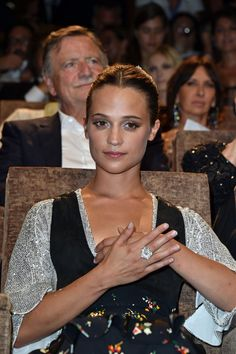 Alicia Vikander Photos Photos - Actress Alicia Vikander attends the premiere of 'The Light Between Oceans' during the 73rd Venice Film Festival at Sala Grande on September 2, 2016 in Venice, Italy. - 'The Light Between Oceans' Premiere  - 73rd Venice Film Festival