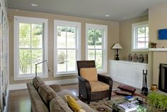 Use window draft stop kits to improve the performance of you windows during the winter months.