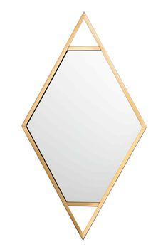 Specchio con cornice metallica - Dorato - HOME   H&M IT 1