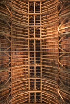 English Tithe Barn Timber Trails Enabling Diy