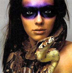 Tribal makeup #peacocks #peacocksgoestribal #makeup #tribal