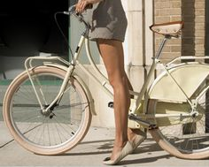 summer time + bare legs + 2 wheels