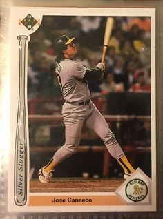 1991 Upper Deck Silver Slugger Jose Canseco SS4 Near Mint Combined s H | eBay