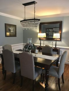 #decoratedinnertablediningrooms Dinning Room Paint Ideas, Dinning Room Table  Decor, Dining Room Inspiration,